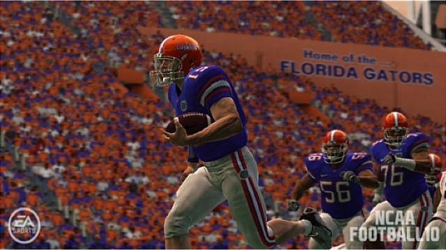 NCAA Football Used Tim Tebow's Real Name Before He Graduated