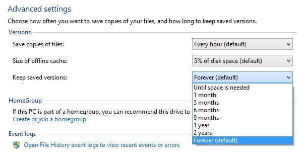 How to Use Windows 8's New File History Backup (aka Time Machine for Windows)