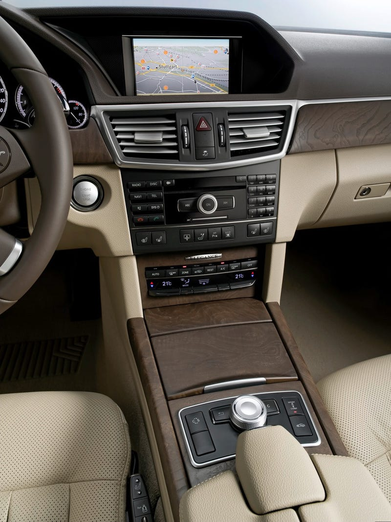 2010 Mercedes E500 Coupe: First Photos