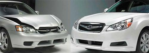 2010 Subaru Legacy Now Slightly Cheaper To Crash