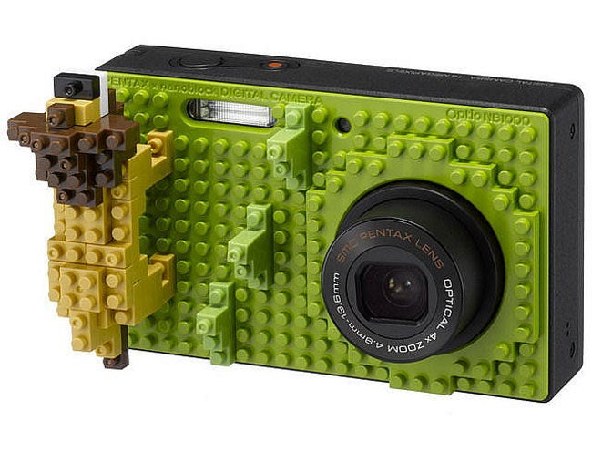 Pentax Optio NB1000 Is A Camera For Lego Lovers