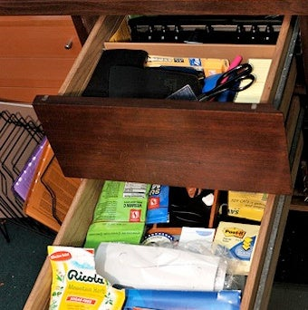 Organize Desk Drawers by Importance for Easiest Access to Essential Items