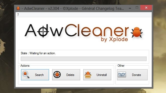 AdwCleaner Removes Toolbars and Other Malware in One Click