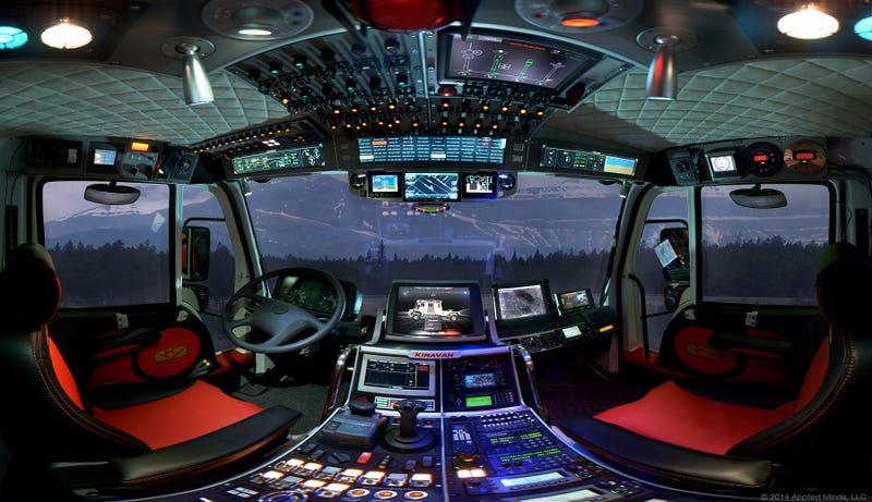 Este camión de alta tecnología para expediciones es el Optimus Prime de las autocaravanas