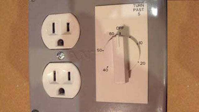 Add a Timer to an Outlet to Save Energy and Prevent Accidents