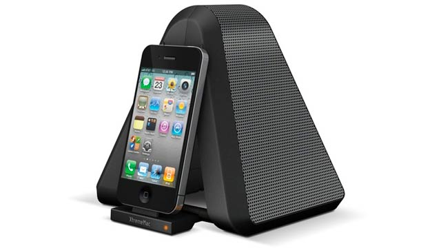 An iPhone Dock That Folds Up Like a Lawn Chair