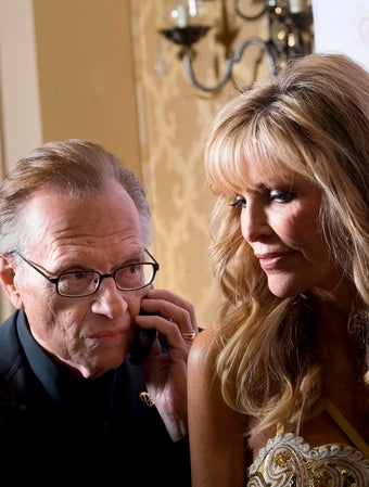 Are Larry King and His Wife Making Up Already?