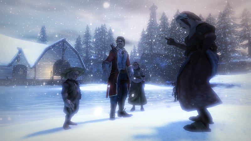 New Fable 2 Screens Celebrate Knothole Island's Release