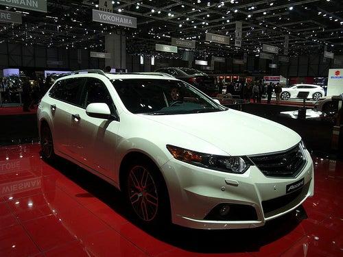 European Honda Accord Sedan And Wagon