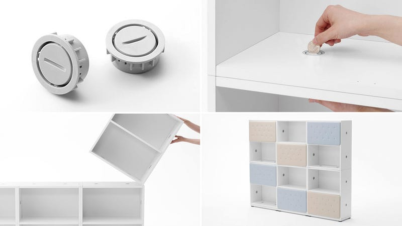 Say Goodbye To Hex Wrenches: Furniture That Assembles With Coins