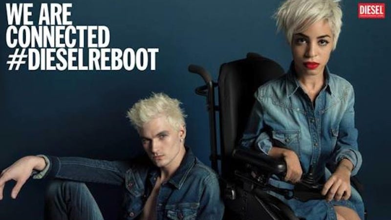 Fierce Woman in a Wheelchair Stars in New Diesel Ad