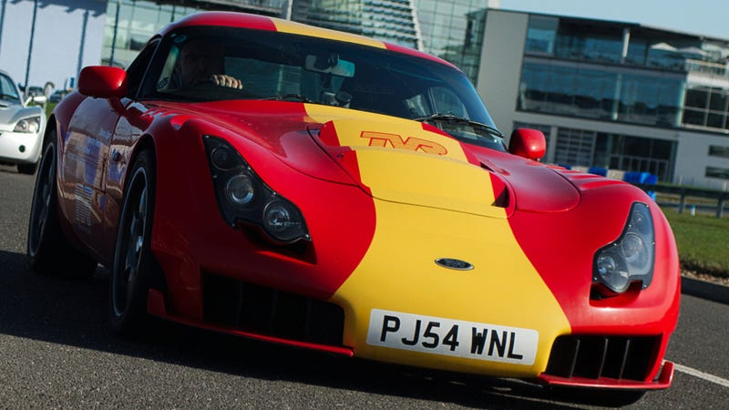 TVR Reportedly Back In British Hands