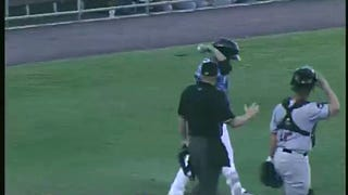 Another Batter Catches Ball After HBP, Throws It Back To Pitcher