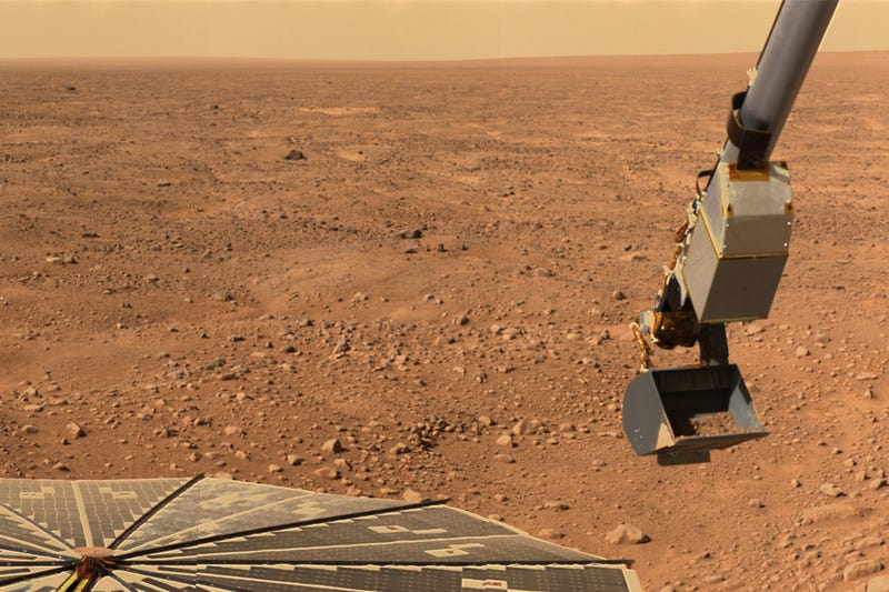 Mars Phoenix Lander Protects Itself From Bad NASA Commands