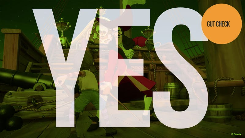 Should You Buy Kinect Disneyland Adventures? Yes.