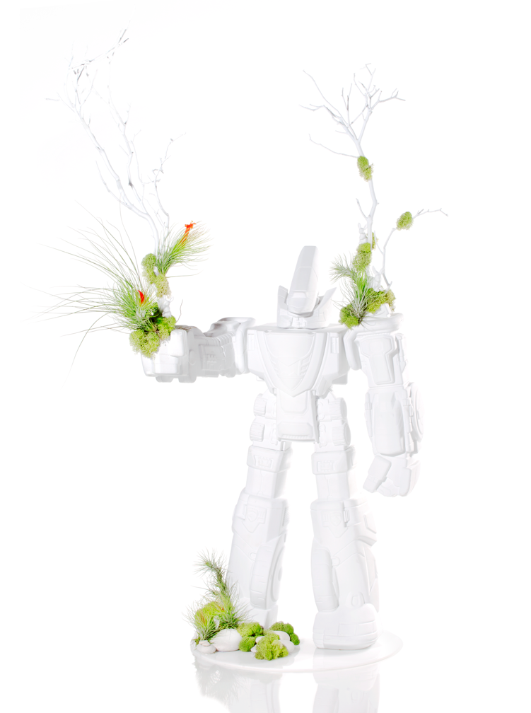 It's a Robot! It's a Terrarium! It's a Robot Terrarium!