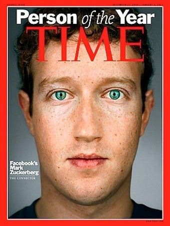 Mark Zuckerberg is Time's 'Person of the Year'