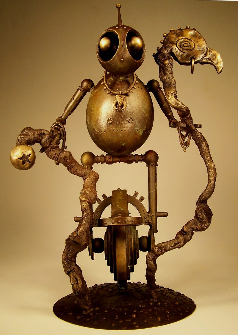 The Awesome Power of Vincent Villafranca's Robot Sculptures