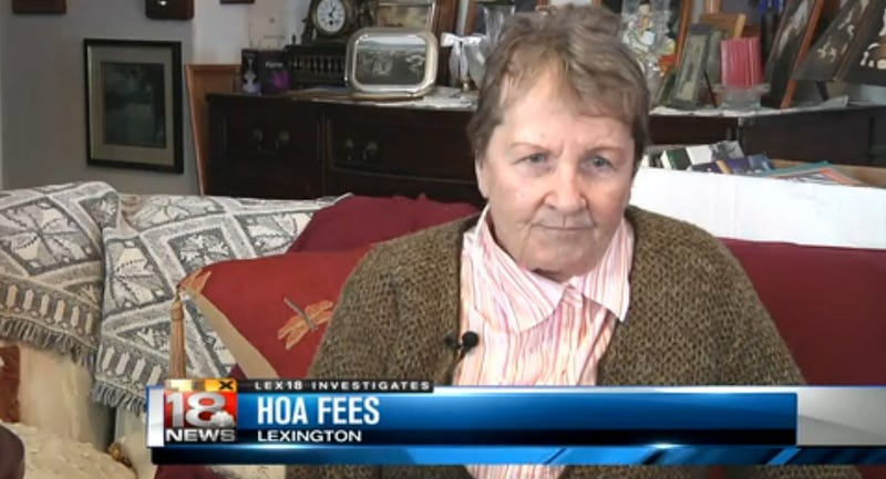 Elderly Woman Loses Home for Failing to Pay Homeowner Association Fees