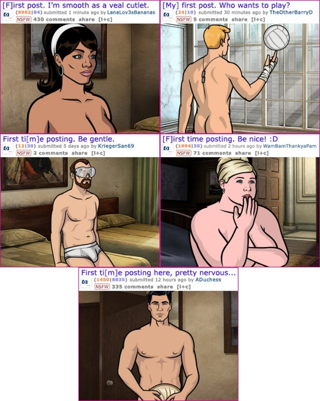Archer Promotes Fifth Season by Posting Nudes on Reddit's GoneWild