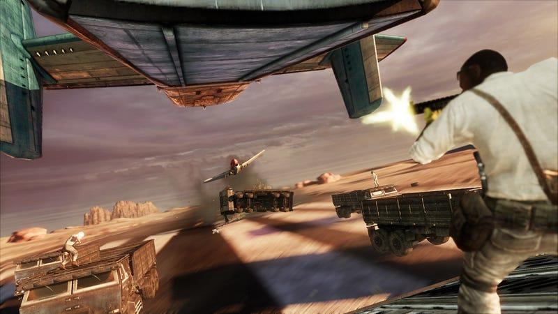 Uncharted 3: Drake's Deception Isn't Fooling Game Reviewers