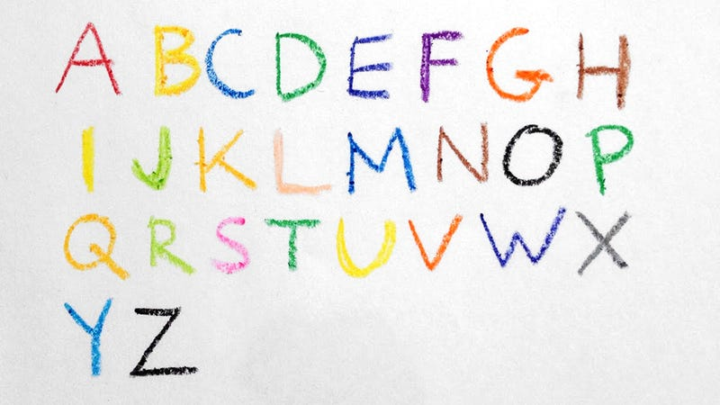 What Colors Are Your ABCs?