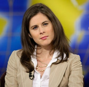 Erin Burnett, Peggy Noonan Bear Witness To The Collapse Of The Economy... And McCain