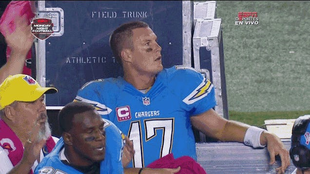 So, What Was Philip Rivers Saying Here?