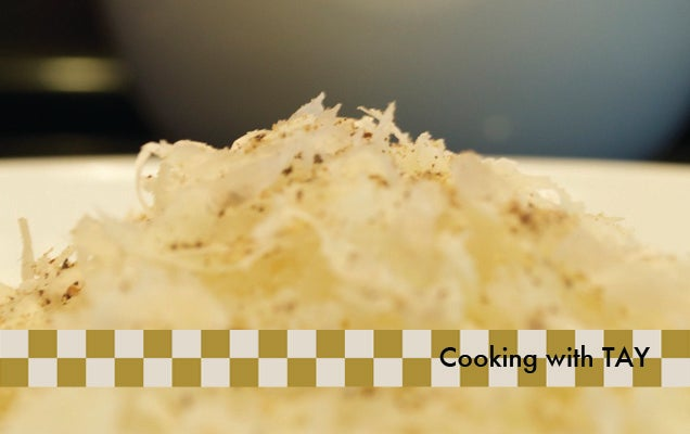 Cooking with TAY : Cacio e Pepe