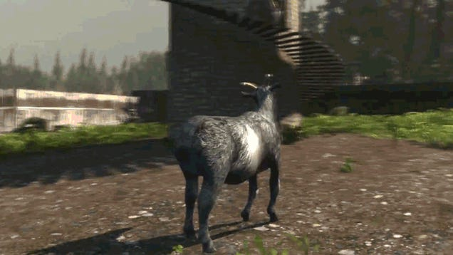 You Did It, Internet. Goat Simulator Is A Real Thing That You Can Buy.