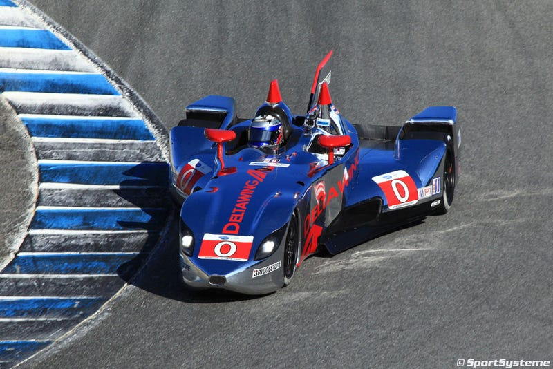 DeltaWing returns at Monterey, the good-news/bad-news