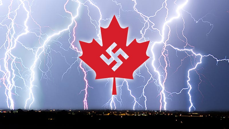 The time those Nazi bastards installed a weather station in Canada...