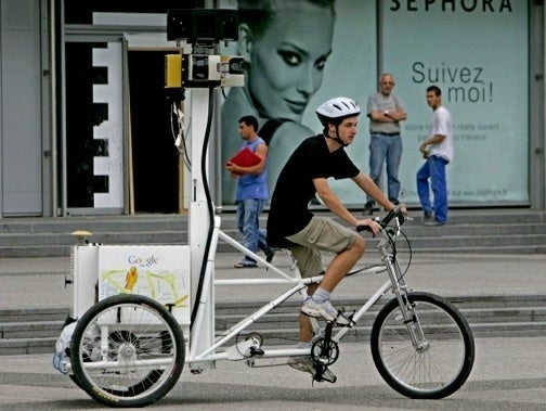 Google Maps Using Strange Tricycles To Map Paris Streets