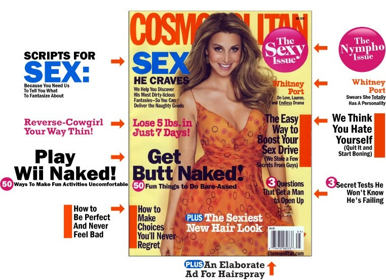 "Cosmo's ""Sexy Issue"" Does Helen Gurley Brown Proud"