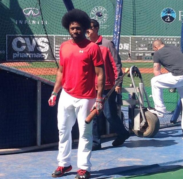 Jackie Bradley, Jr. Now Has A Glorious Afro