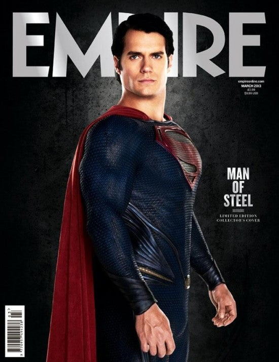 Man of Steel Magazine Photos