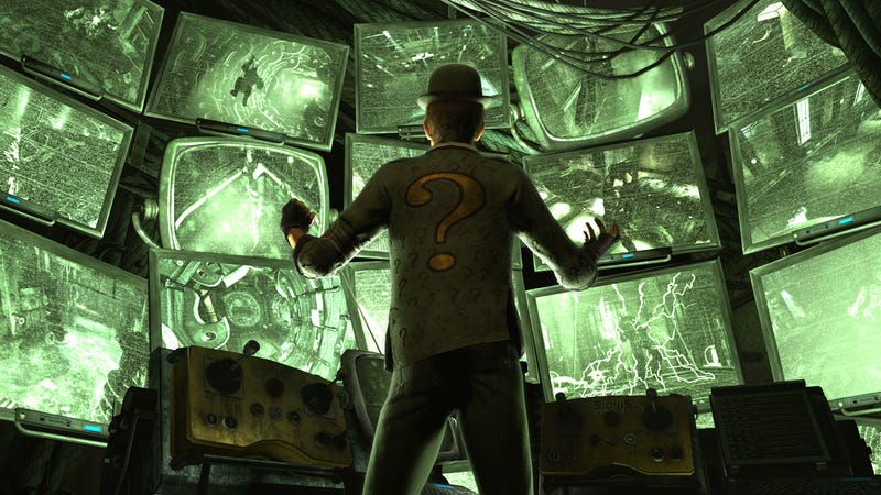 Is The Riddler Arkham City's Scarecrow?