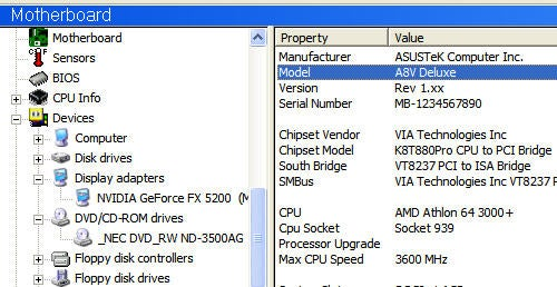 Screenshot Tour: Learn everything about your PC with SIW