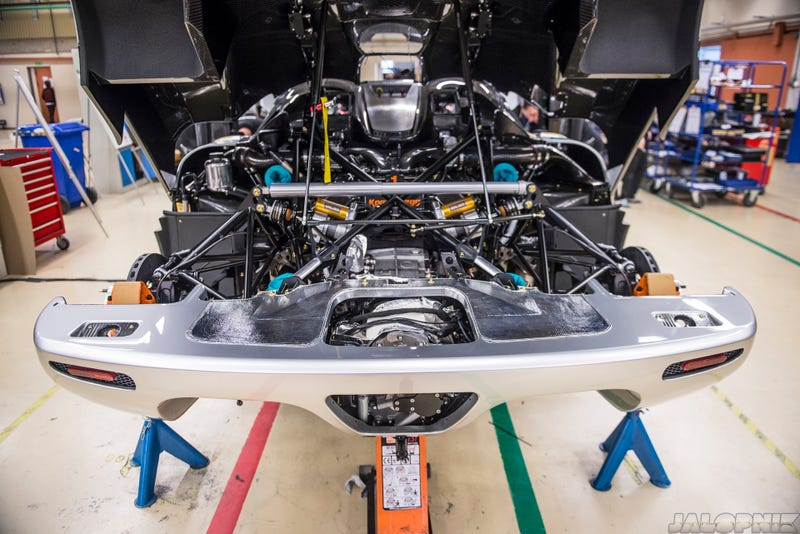 This Is The Final Build Process Of The Amazing Koenigsegg One:1