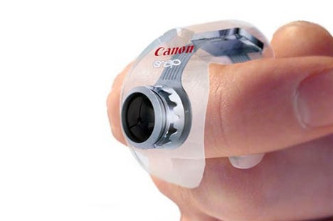 Canon Snap Concept, a Microcam for Your Index Finger