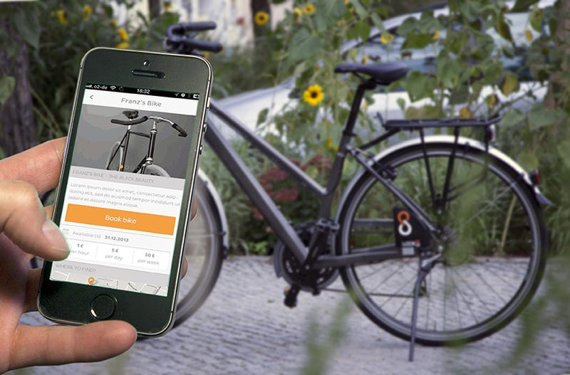 The Internet of Bikes: This Smart Lock Lets You Track and Share Rides