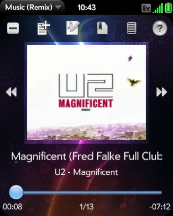 Music Player (Remix) Is a Feature-Rich Music Player Replacement for webOS