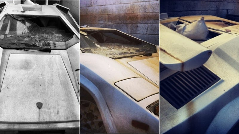Derelict Lamborghini Countach Is Why Hipsters Can't Have Nice Things
