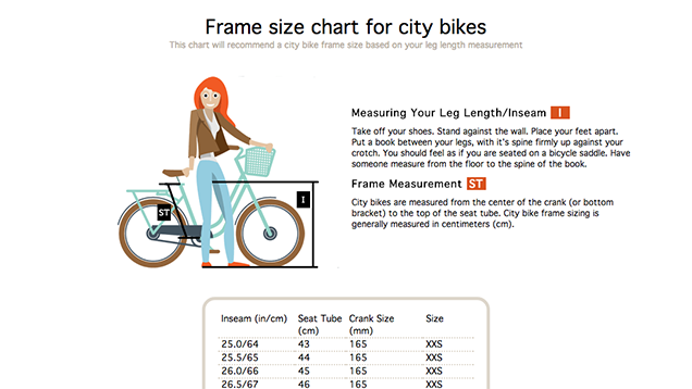 how to know what size bike you need