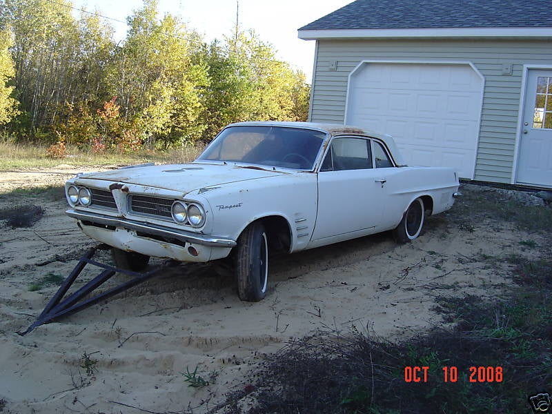 Nice Price Or Crack Pipe: $226,521.63 For A Basket-Case 1963 Pontiac Tempest?