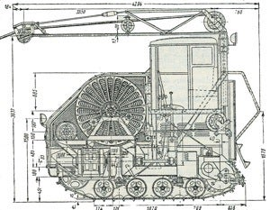 When the Soviets built an electric tractor
