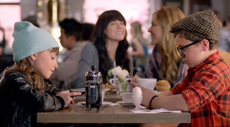 TV Commercials Use Cute Kids To Exploit Panic Over Technology FOMO
