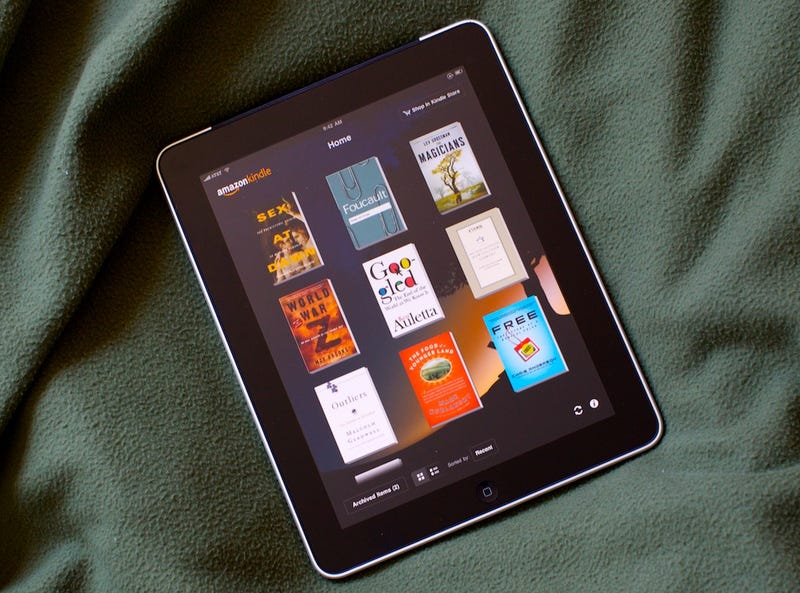 Why I Only Buy Kindle Books