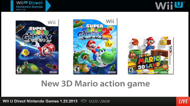 New Wii U Mario And Mario Kart Games Will Be Revealed At E3