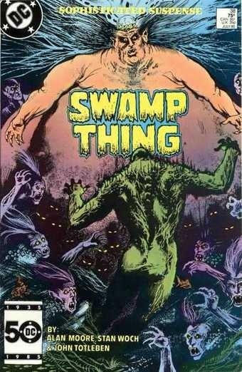 Swamp Thing, you make comic book Wednesday sing